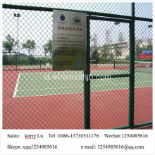 Pvc Coated Basketball Playground Chain Link Pagar